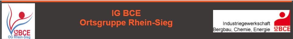 IGBCE-Ortsgruppe Rhein-Sieg